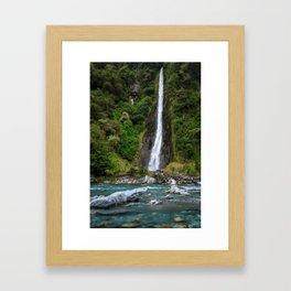 Haast Pass Framed Art Print