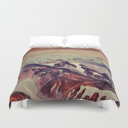 Victory the Climb Duvet Cover