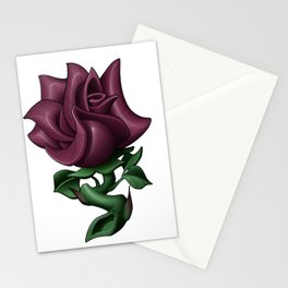 Dusty Rose Stationery Cards