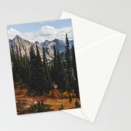 Autumn in North Cascades Stationery Cards