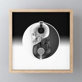 Headphone Harmony Framed Mini Art Print