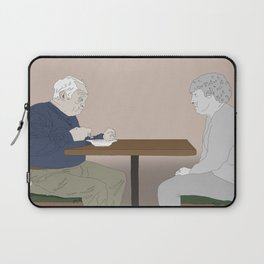 The loss of a soulmate Laptop Sleeve