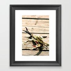 CrabWalk Framed Art Print