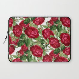 Crimson Rose Bower Laptop Sleeve