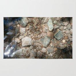 A Stream's Bedrock (Lake Tahoe, California) Rug
