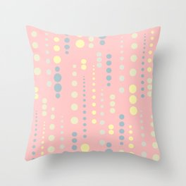 Colordrops Throw Pillow