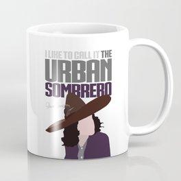 The Urban Sombrero Coffee Mug