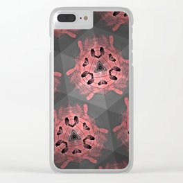 Shades of Kaleidoscopes Clear iPhone Case