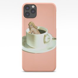 Her Name is Jo :) - pink iPhone Case