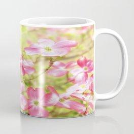Pink Dogwood Flowering Tree In Spring Time Coffee Mug