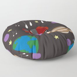Awesome Ride, Starman Floor Pillow