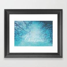 Twas The Night Before Christmas Framed Art Print