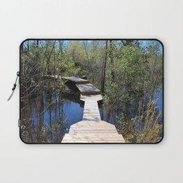 Crossing The Swamp Laptop Sleeve