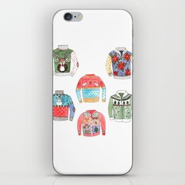 Ugly Sweaters iPhone Skin