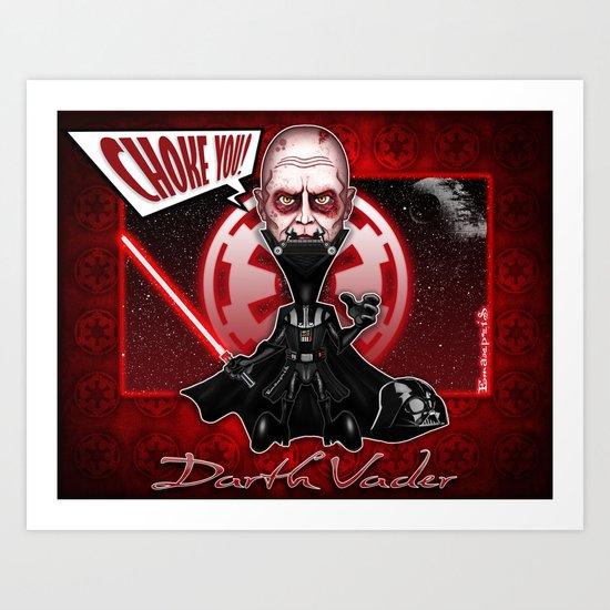 The Darth Vader concept! Art Print