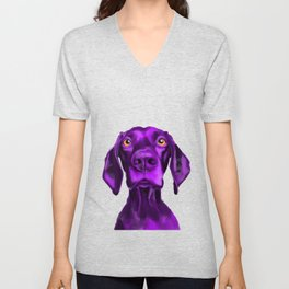 The Dogs: Buddy 2 Unisex V-Neck