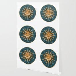 Sun, Moon & Stars Wallpaper