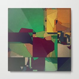 Patchwork of Color Metal Print