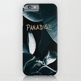Ficus Elastica PARADISE #1 #decor #art #society6 iPhone Case