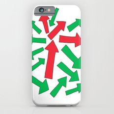 red arrow over green Slim Case iPhone 6s