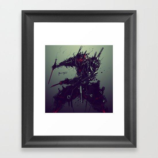 "Judgement Day ""Solaris"" Framed Art Print"