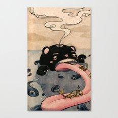 Fish Factory Canvas Print