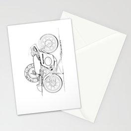 Bultaco Vintage Motorcycle Stationery Cards