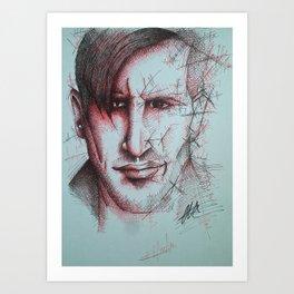 CCK - Chris Brookes Art Print