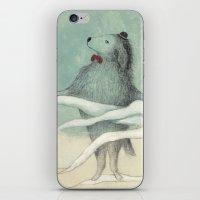 dog iPhone & iPod Skins featuring dog by maria elina