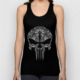 Tribal Punisher Unisex Tank Top