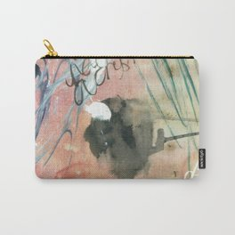 Red Haiku Carry-All Pouch
