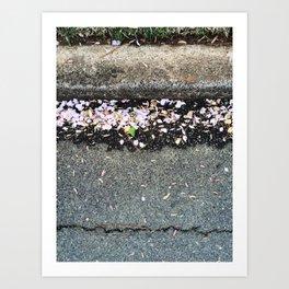 Spring Curb Art Print