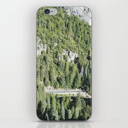nature meets highway iPhone Skin