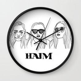 Haim Wall Clock