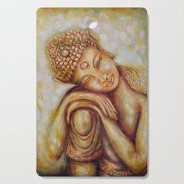 """Daydreaming Buddha Child"" Healing Art Cutting Board"