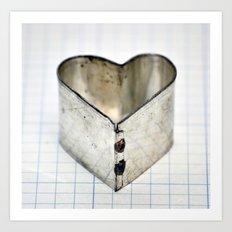 Tin Heart Art Print