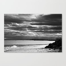 Dreary Waters Canvas Print