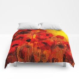 FLOWERS - Poppy reverie Comforters
