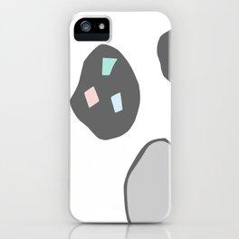 space rocks iPhone Case