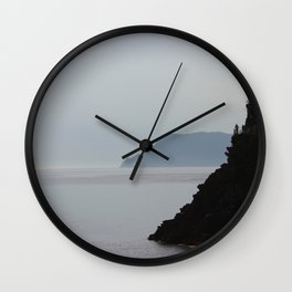 Cliffs and the Sea Wall Clock