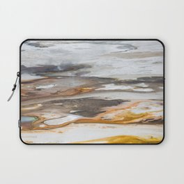 Yellowstone National Park - Thermophiles, Norris Geyser Basin Laptop Sleeve