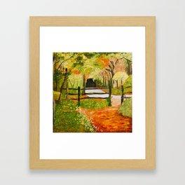 Newtown Creek Copse Framed Art Print