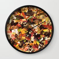 circus Wall Clocks featuring Circus by Kerri Swayze