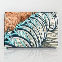 bicycles iPad Cases featuring Bicycles by Jewels
