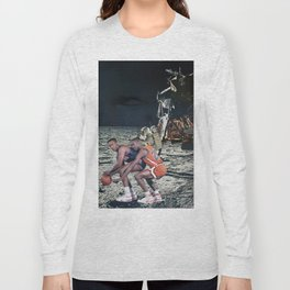 Space Ball - Vintage Collage Long Sleeve T-shirt