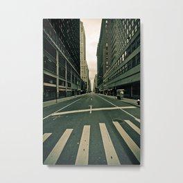 NY ... abandoned  Metal Print