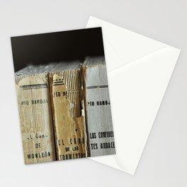 Libros de Pío Baroja Stationery Cards