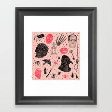 Whole Lot More Horror Framed Art Print