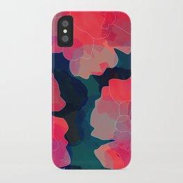 Blushing Flowers- Purple iPhone Case