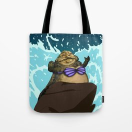 I Want To Be, Jabba Your World Tote Bag